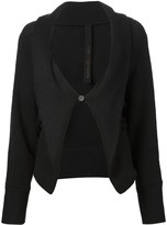 Forme D'Expression one button cardigan