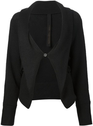 Forme D�expression One Button Cardigan