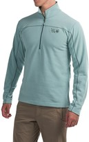 Mountain Hardwear Microchill Fleece Shirt - Zip Neck, Long Sleeve (For Men)