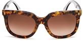 Fendi Oversized Cat Eye Sunglasses, 54mm