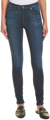 Hudson Jeans Jeans Barbara Zinc High-Rise Super Skinny Ankle Cut