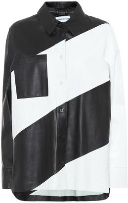Stand Studio Mila leather shirt