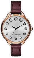 Marc Jacobs Betty Analog Leather-Strap Watch
