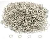 FindingKing 1000 Jump Rings White Chain Necklace Connector 19 Gauge