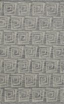 Momeni Rugs CARAVCAR-6GRY3959 Caravan Collection, 100% Wool Hand Woven Transitional Area Rug