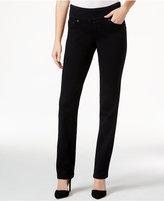 Jag Peri Pull-On Straight-Leg Jeans