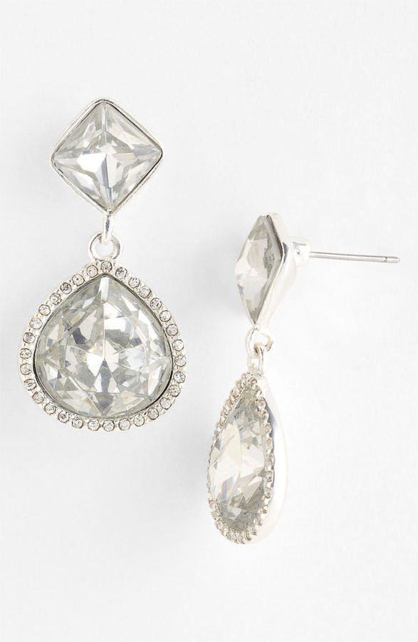Anne Klein 'Bruma' Drop Earrings
