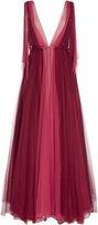Luisa Beccaria Two-Tone Tulle Gown