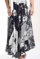 Casual Studio Floral Patchwork Skirt
