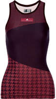adidas by Stella McCartney Train Miracle Printed Climalite Stretch Tank - Dark purple