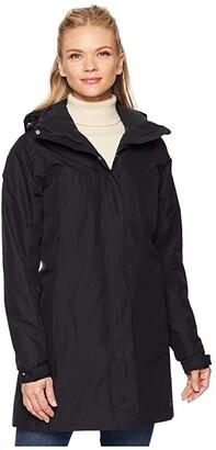 Helly Hansen Aden Insulated Coat (Black) Women's Coat