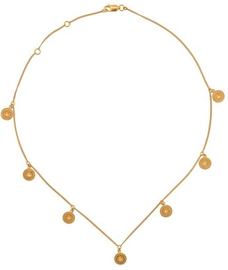 Rachel Jackson Eternal Sun coin necklace