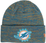 New Era Miami Dolphins Beveled Team Knit Hat