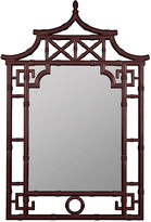 One Kings Lane Fred Wall Mirror, Mahogany