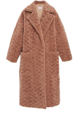 Nanushka Imogen Oversized Faux-Shearling Coat