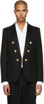Balmain Black Military Evening Blazer