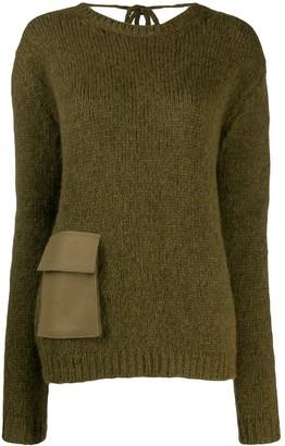 Rochas pocket detail jumper