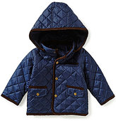 Starting Out Baby Boys 12-24 Months Quilted Hooded Coat