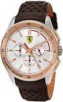 Ferrari Men's 0830190 Gran Premio Analog Display Quartz Brown Watch