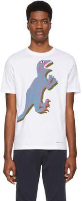 Paul Smith White Dino Regular Fit T-Shirt