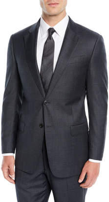 Emporio Armani Men's Mini Houndstooth Two-Piece Suit