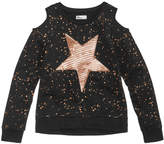 Epic Threads Sequin Star Cold-Shoulder Top, Big Girls (7-16), Created for Macy's