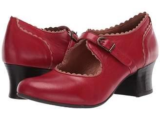 Miz Mooz Francine (Red) Women's Boots