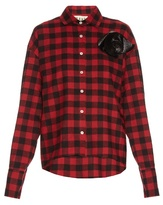 Awake Kurts oversized checked cotton shirt