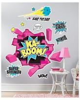 BuySeasons Superhero Girl Giant Wall Decal