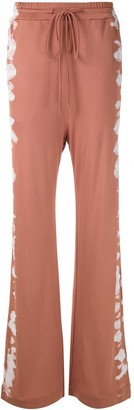 Alcaçuz Mariele tie-dye panels trousers