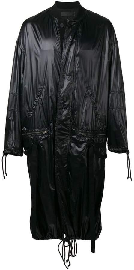 Haider Ackermann long raincoat