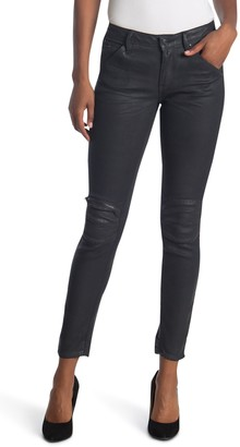 G Star 5622 Coated Mid Skinny Jeans