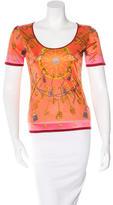 Hermes Les Cles Short Sleeve Top