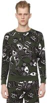 Paul & Joe Nature Printed Cotton Sweatshirt
