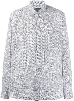 John Varvatos all-over print shirt