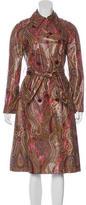 Etro Paisley Print Raincoat