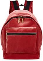 Sandro Velvet Backpack, Pink