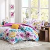 Bed Bath & Beyond Olivia Reversible King/California King Comforter Set in Fuchsia