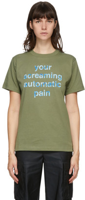 Marc Jacobs Green Heaven by Automatic Pain T-Shirt