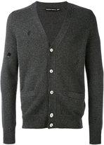 Alexander McQueen - V-neck cardigan - men - Cashmere - XL