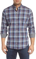 Tailorbyrd Men's Big & Tall 'Hennessey' Regular Fit Plaid Sport Shirt