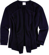 IZOD EXCLUSIVE IZOD Cascade-Front Cardigan - Girls 7-18