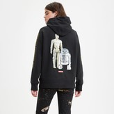 Levi's Levis x Star Wars Cotton Hoodie with R2-D2 and C-3PO Print