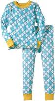 Masala Jiva PJ Set (Toddler/Kid) - Turq/Yellow-6