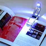 nikstoreinus Black Flexible Folding LED Clip on Reading Book Light Lamp for Reader