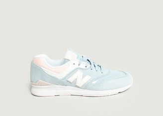 New Balance 697 Leather Trainers