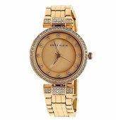 Anne Klein Women's AK/1852RMRG Swarovski Crystal Accented Rose Gold-Tone Bracelet Watch