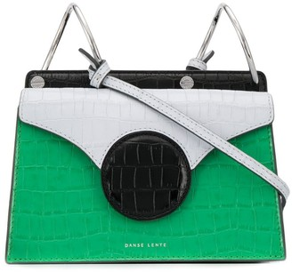 Danse Lente croc-effect crossbody bag