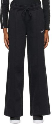 Nike Black and White Sportswear Trend OH Lounge Pants