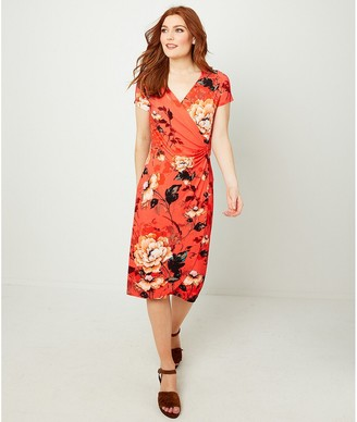 Joe Browns Floral Print Wrapover Dress